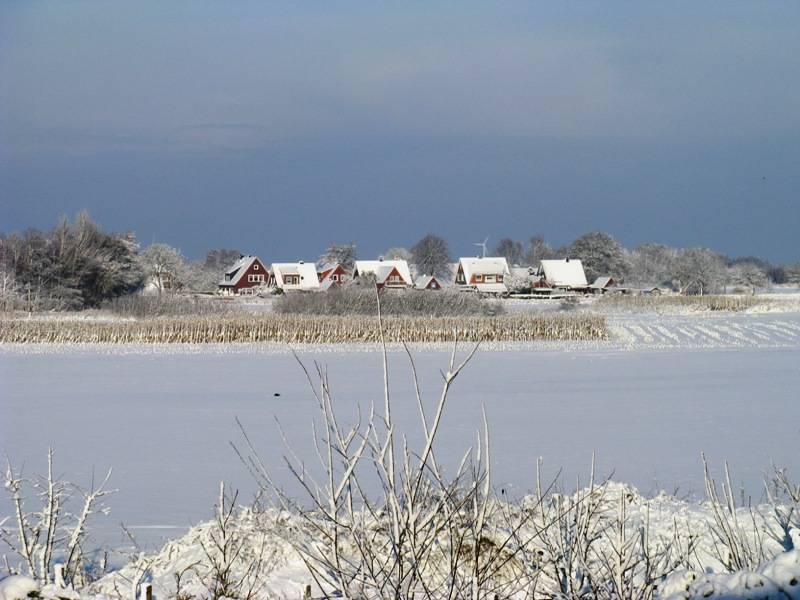 Winterlandschaft in Ostfriesland
