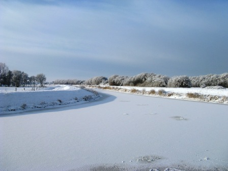 Winterlandschaft in Ostfriesland 2010