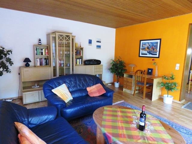 Wohnzimmer Ferienwohnung Ostfriesland