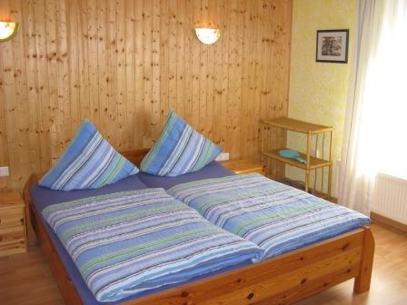 Schlafzimmer Ferienwohnung Holtgast