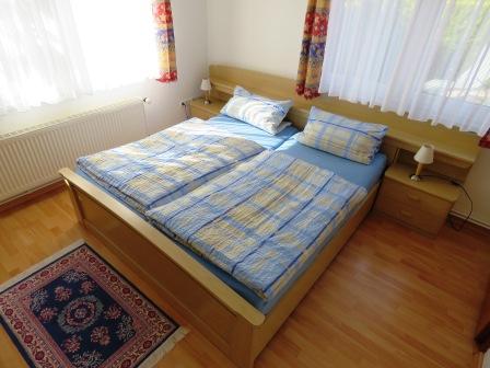 Schlafzimmer Ferienwohnung Kutscherhuus