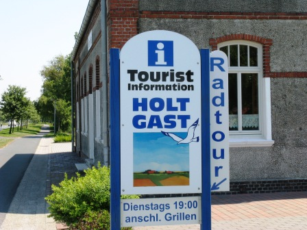 Touristikinformation Holtgast