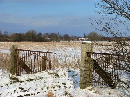Winterlandschaft Holtgast